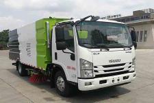 楚胜牌CSC5080TXSW6型洗扫车(CSC5080TXSW6洗扫车)(CSC5080TXSW6)