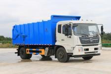 国六东风天锦厢式垃圾车多少钱13329882498