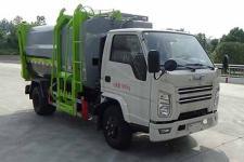 國六江鈴自裝卸式垃圾車廠家直銷價格