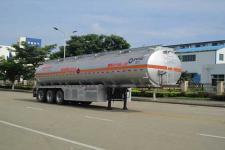 运力12.6米32.8吨铝合金运油半挂车
