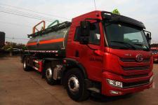 大力牌DLQ5259GFWC5型腐蚀性物品罐式运输车