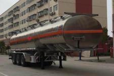 程力威11.3米33.2吨铝合金运油半挂车