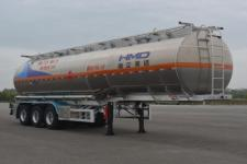 欧曼牌HFV9409GRYA型铝合金易燃液体罐式运输半挂车图片