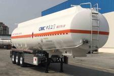 中集11.9米33.3吨3轴铝合金运油半挂车(ZJV9401GYYJMA)