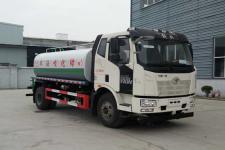 国六解放15吨绿化喷洒车价格(可上京牌)13635739799