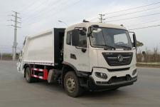 国六东风天锦12-14方后装压缩式垃圾车价格13635739799