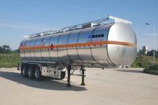 陕汽牌SHN9400GRYP440型铝合金易燃液体罐式运输半挂车图片