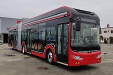 18米|32-50座中植汽车纯电动铰接低地板城市客车(CDL6180URBEV)