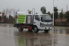 国六东风多利卡蓝牌5方多功能喷雾抑尘车价格13635739799