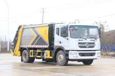 國六東風多利卡D9壓縮垃圾車(12方-14方)多少錢-廠家直銷最低價格