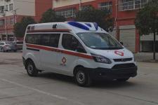国六福特新全顺v362救护车