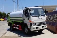 國六解放8噸灑水車多少錢廠家直銷