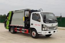 国六东风小多利卡6方压缩垃圾车价格配置图片