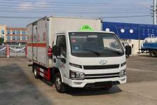 国六跃进3米4杂项危险物品厢式运输车的价格13329882498