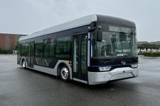 通工牌TG6105GBEV2型纯电动低地板城市客车图片