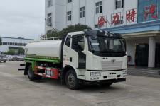 国六解放J6 12方绿化喷洒车价格13635739799