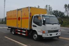 江淮易燃液体厢式运输车价格(JHW5090XRYH易燃液体厢式运输车)