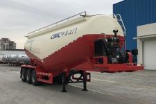 中集9.7米31.2吨3轴中密度粉粒物料运输半挂车(ZJV9402GFLJM)