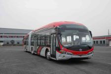 广通牌CAT6180DRBEVT1型纯电动铰接城市客车图片