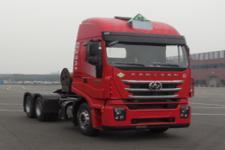 红岩牌CQ4257HD12384TU型危险品运输半挂牵引车图片