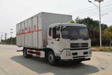 东风天锦国六6米6易燃液体厢式运输车