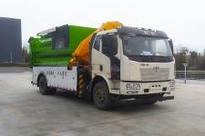 国六解放吊装式垃圾车