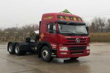 大运牌CGC4250N6ECBA型危险品运输半挂牵引车图片