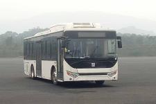 远程牌DNC6100BEVG9型纯电动低入口城市客车图片