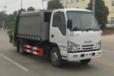 國六五十鈴5方壓縮式垃圾車價格