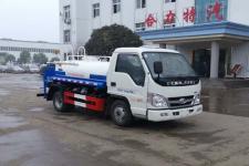 國六福田時代藍牌3方抑塵灑水車價格 188 7299 7402