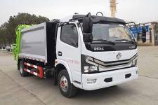 舜德牌SDS5090ZYSD6型压缩式垃圾车