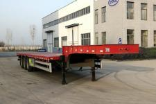 同强11米33.2吨低平板半挂车