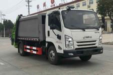 國六江鈴5方壓縮垃圾車價格