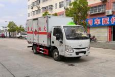 国六跃进3米3易燃液体厢式运输车13635739799