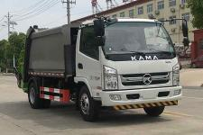 帝王环卫牌HDW5090ZYSK6型压缩式垃圾车  15897598261