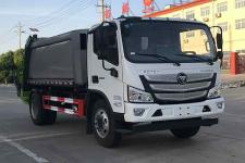 12方國六福田壓縮垃圾車價格