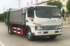國六江鈴8方壓縮式垃圾車