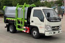 国六福田时代自装卸式垃圾车价格/4方福田时代挂桶垃圾车厂家