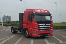 红岩牌CQ4180BEVSS441型换电式纯电动半挂牵引车图片