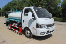 國六藍牌東風小型3噸灑水車廠家報價多少錢
