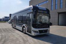 宏远牌KMT6107GBEV型纯电动低地板城市客车图片