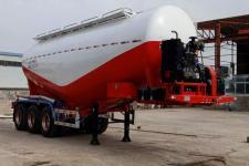 曙岳8.7米33.2吨3轴中密度粉粒物料运输半挂车(DSY9401GFL)