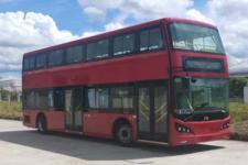 广汽牌GZ6100LSEV1型纯电动低入口双层城市客车图片
