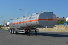 欧曼牌HFV9408GRYD型铝合金易燃液体罐式运输半挂车图片