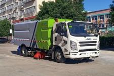 程力威牌CLW5080TXSJ6型洗扫车