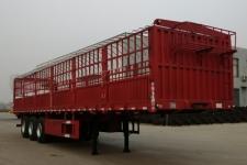 麒强12.5米34吨仓栅式运输半挂车图片