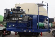 运力牌LG9405GFL型低密度粉粒物料运输半挂车图片