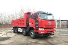 解放前四后八平头柴油自卸车国五350马力(CA3310P66K24L2T4E5)