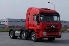 红岩牌CQ4256HMVG273C型集装箱半挂牵引车图片