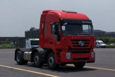 红岩牌CQ4256HXDG273C型集装箱半挂牵引车图片